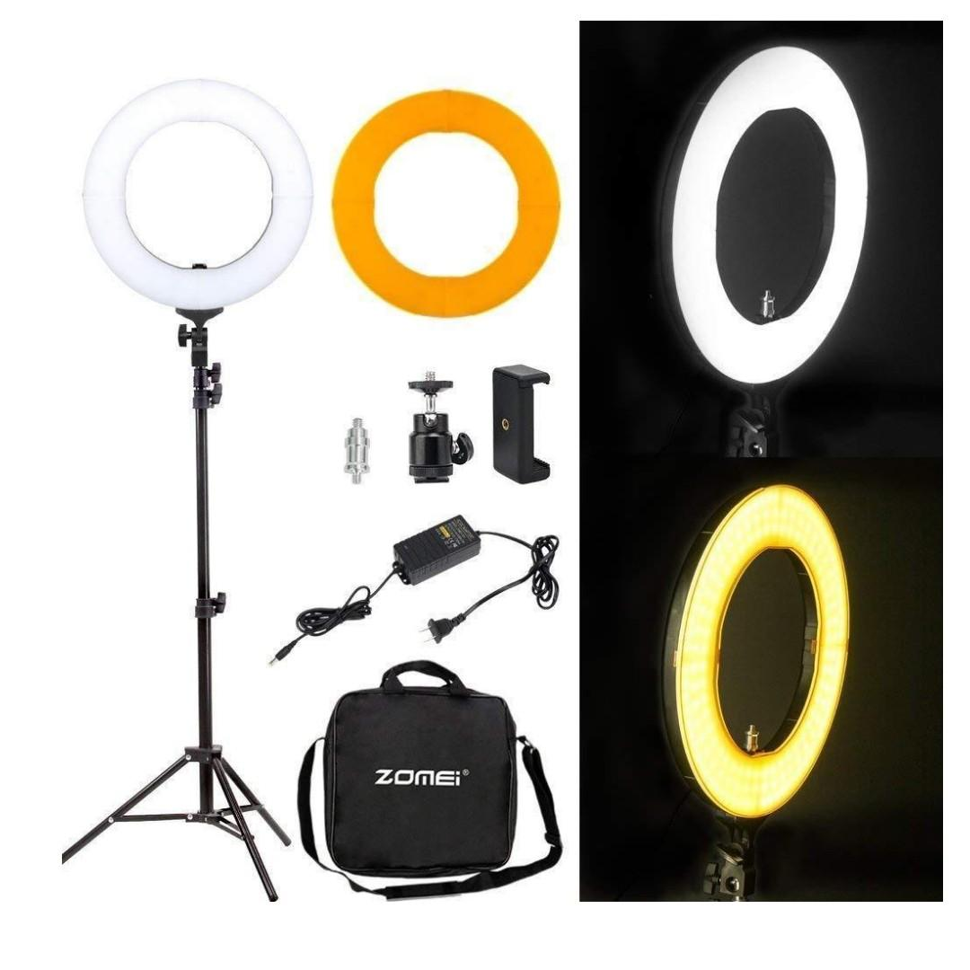 "13"" LED Diva Ring Light Kit / BRAND NEW / Free Shipping Available / GTAPhotoStudio . com"