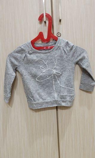 Baby Gap semi sweater casual grey