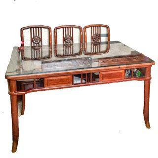 高級實木桌椅組