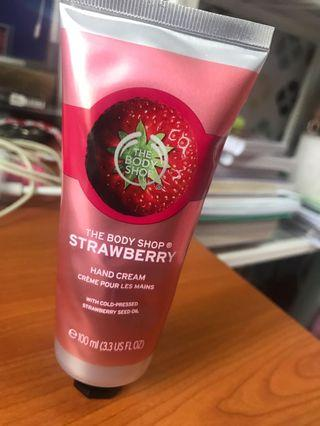 The Body Shop Hand Cream-Strawberry