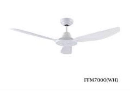Ceiling fan with light (2 units)
