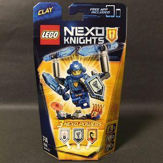 🆕 LEGO 70330 Nexo Knights Ultimate Clay