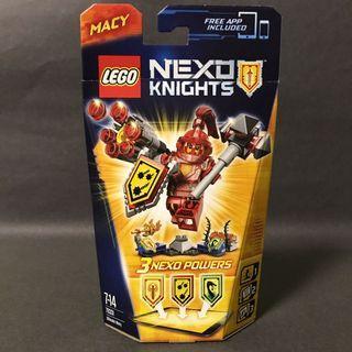 🆕 LEGO 70331 Nexo Knights Ultimate Macy