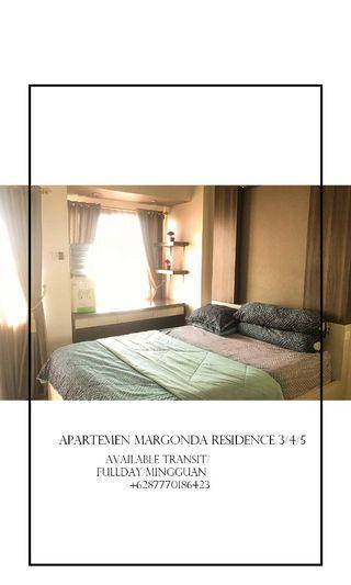 Sewa Apartemen Margonda Residence 3/4/5