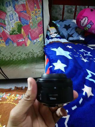 Lensa Canon 50 mm 1,8 STM