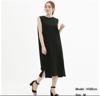 GU 無袖連身裙 L