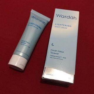 New Wardah Lightening Night Cream