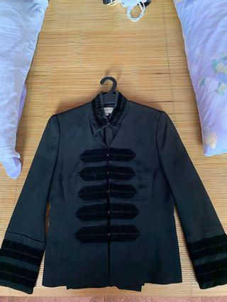 🚚 Karen Millen black military jacket Eur 36