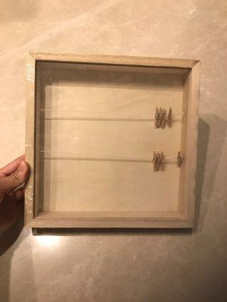 Polaroid Photo Wooden Hanger