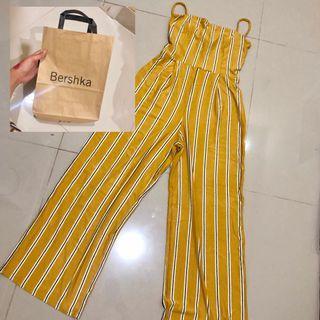 Bershka jumpsuit overall kulot celana