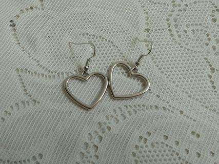 Anting Silver Love