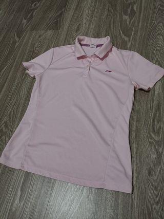 Li ning pink sport shirt