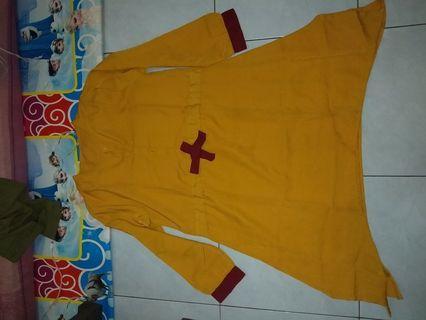 Dress lucu / Mustard Dress