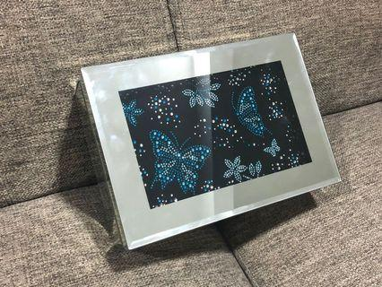 Jewellery Glass Box with LED Lights