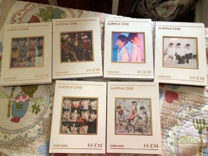 WTS WANNAONE ALBUMS