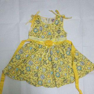 3 to 4 yrs old kids summer dress