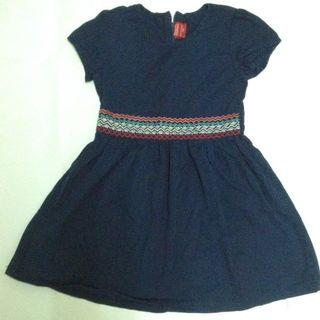 B.U.M equipments 4-5 years old kids blue dress