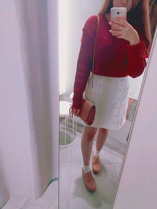 White Rope Skirt