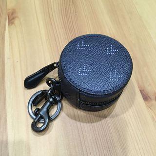 Coach 小圓形鑰匙零錢包(全新正品)