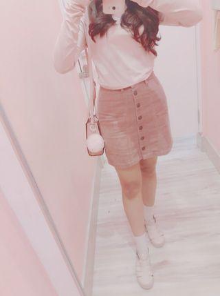 H&M Pink Crop Top