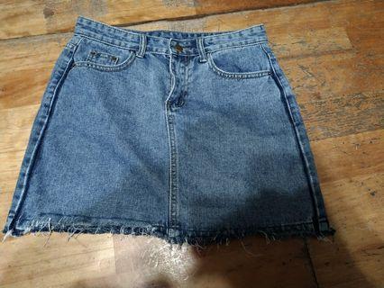牛仔短裙 M號