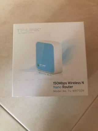 TP LINK Wireless Nano Router 150mbps
