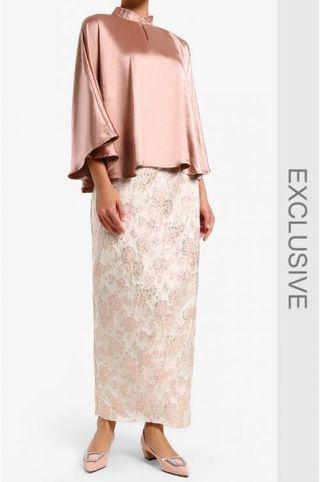 MERAH JAMBU ORKID KURUNG IN ROSE GOLD (REDUCED PRICE)