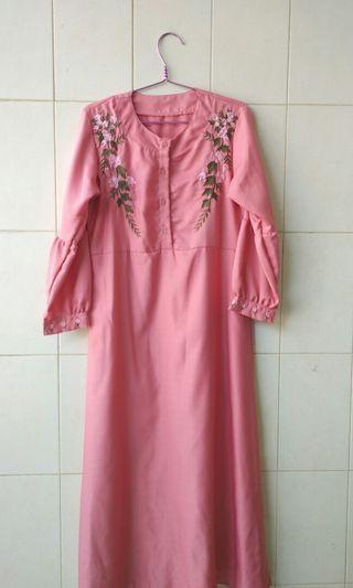 Dress Pink Bordir