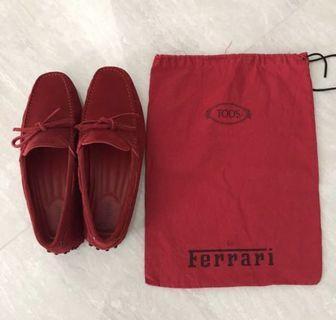 Gommino Driving Shoes Tod's For Ferrari