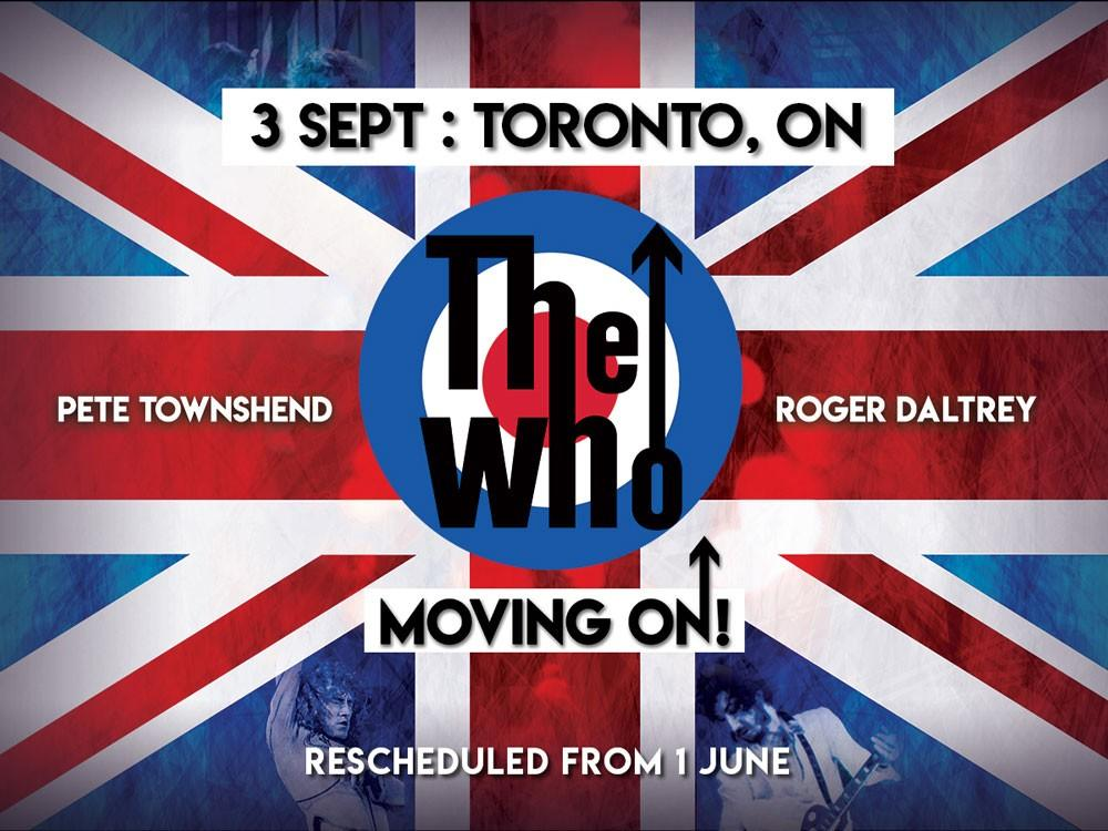 2 tickets The Who Scotiabank Arena Sept 3 section 121