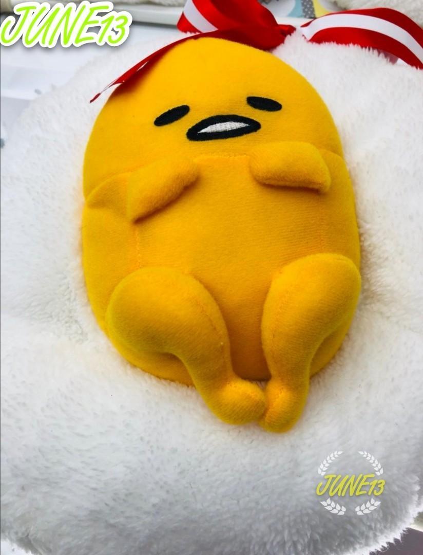 日本蛋黃哥公仔🍳梳乎蛋造型