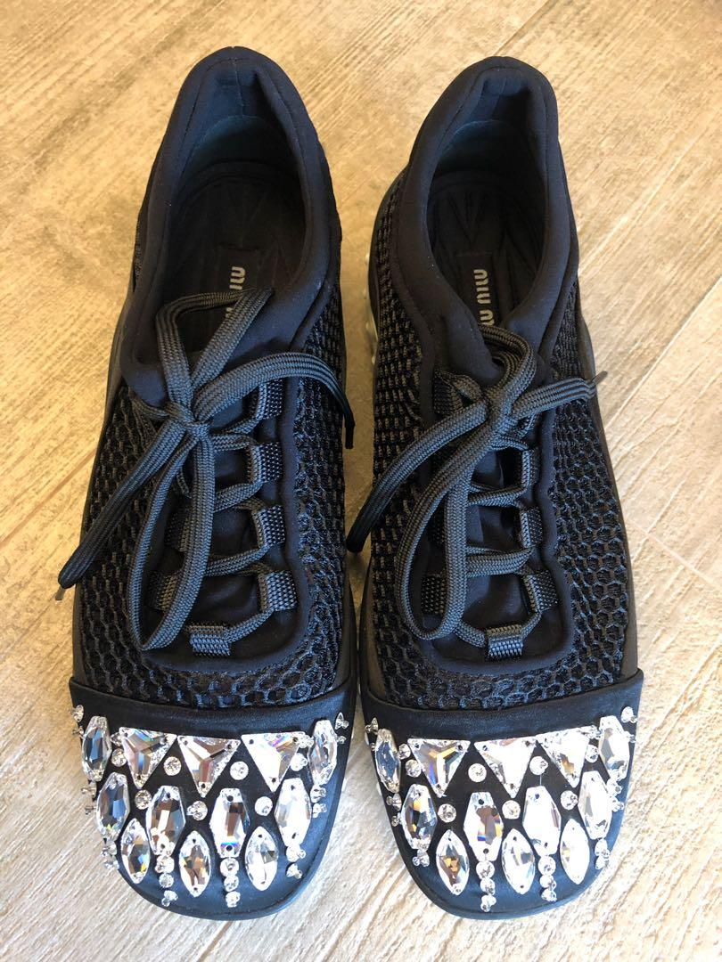 Astro Swarovski Crystal Running Sneakers