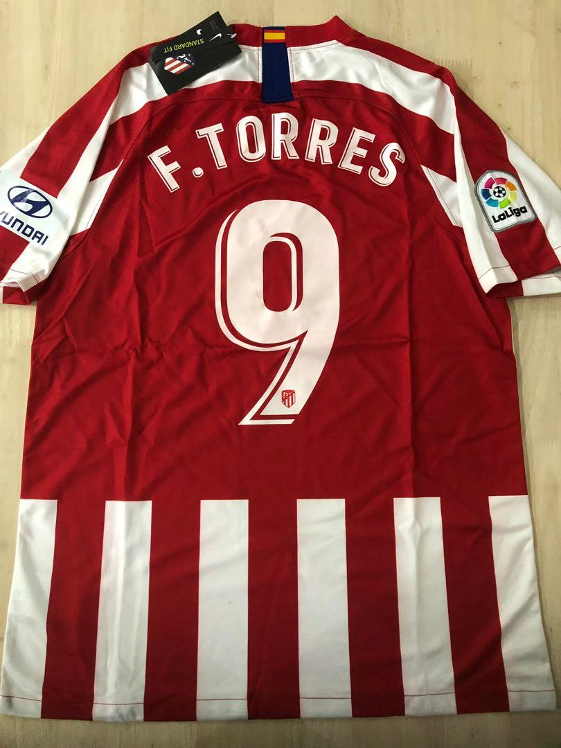 Atletico Madrid Home Jersey 19 20 Sports Sports Apparel On Carousell