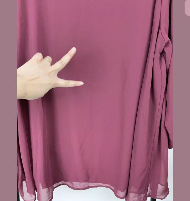 Autograph 18 red wine maroon top shirt blouse tunic smart casual plus size
