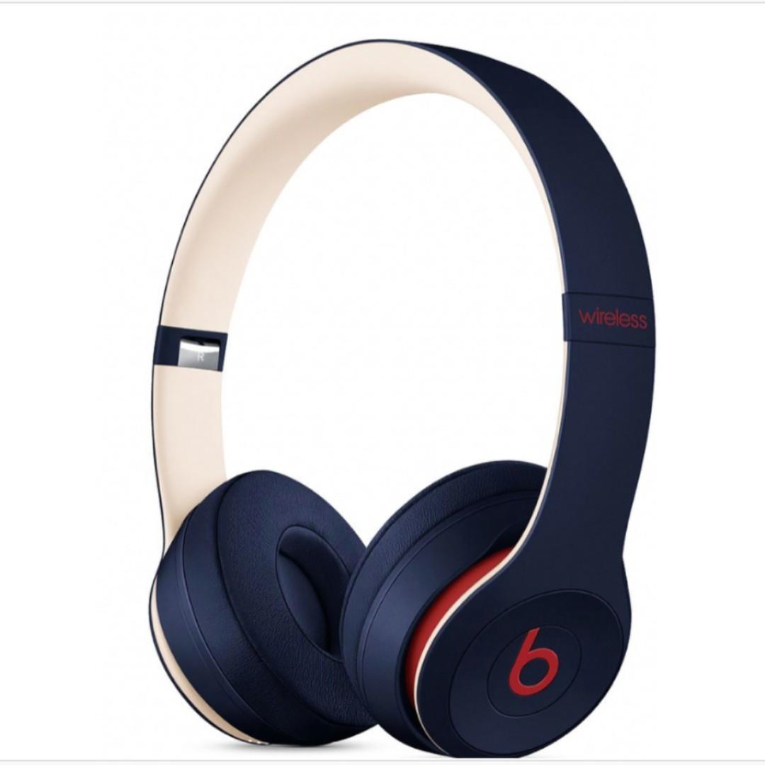 Beats Solo3 Wireless Headphones - Beats Club Collection (new)