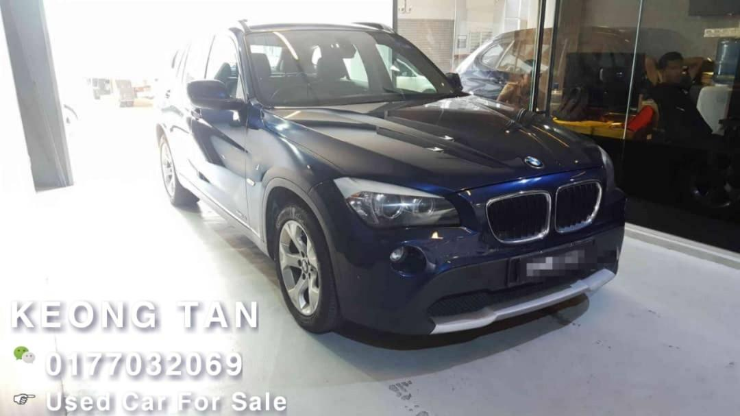 BMW X1 2.0AT sDrive18i PETROL 2012TH 6XXXXKM Only 🎉TipTop Condition/LEATHER SEAT Cash🎉OfferPrice Rm55,500 Only👍 Interested Call📲Keong 0177032069🤗