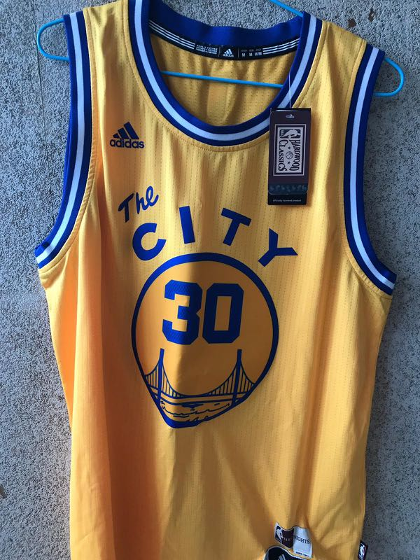 new arrival 26aee 48b6f (BNWT)Golden State Warriors #Stephen Curry adidas NBA Men's Hardwood  Classic Swingman Jersey