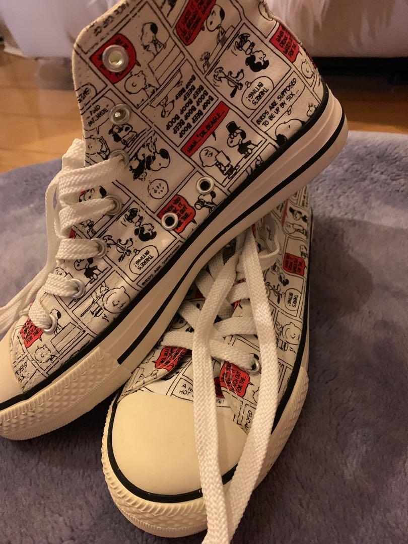 Brand New Snoopy Converse Style, Women