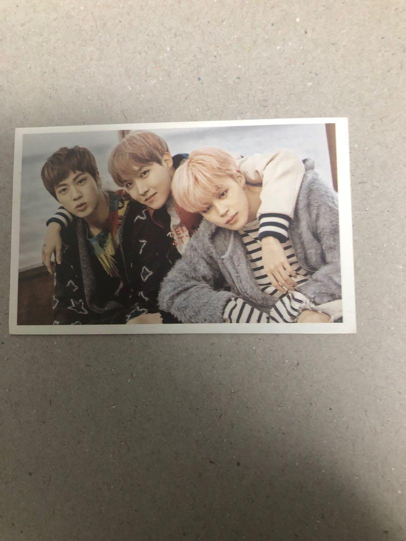 BTS lomo/unofficial photocards