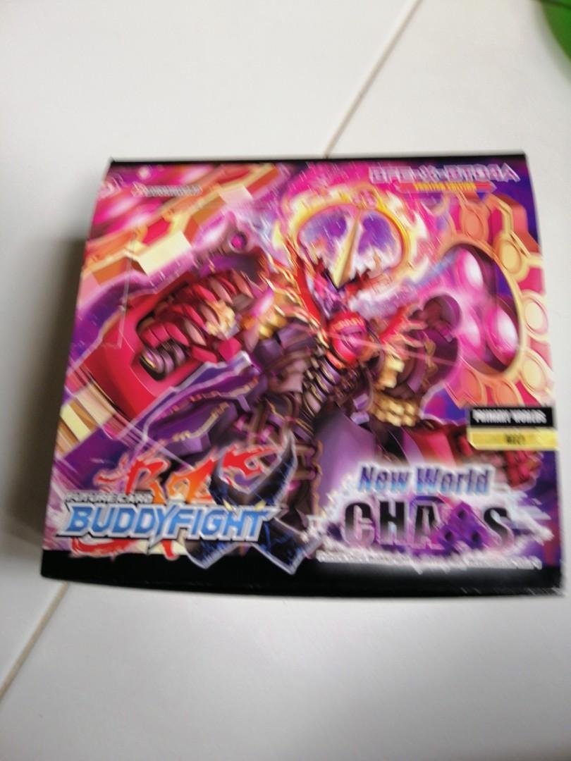 Buddyfight box with cards