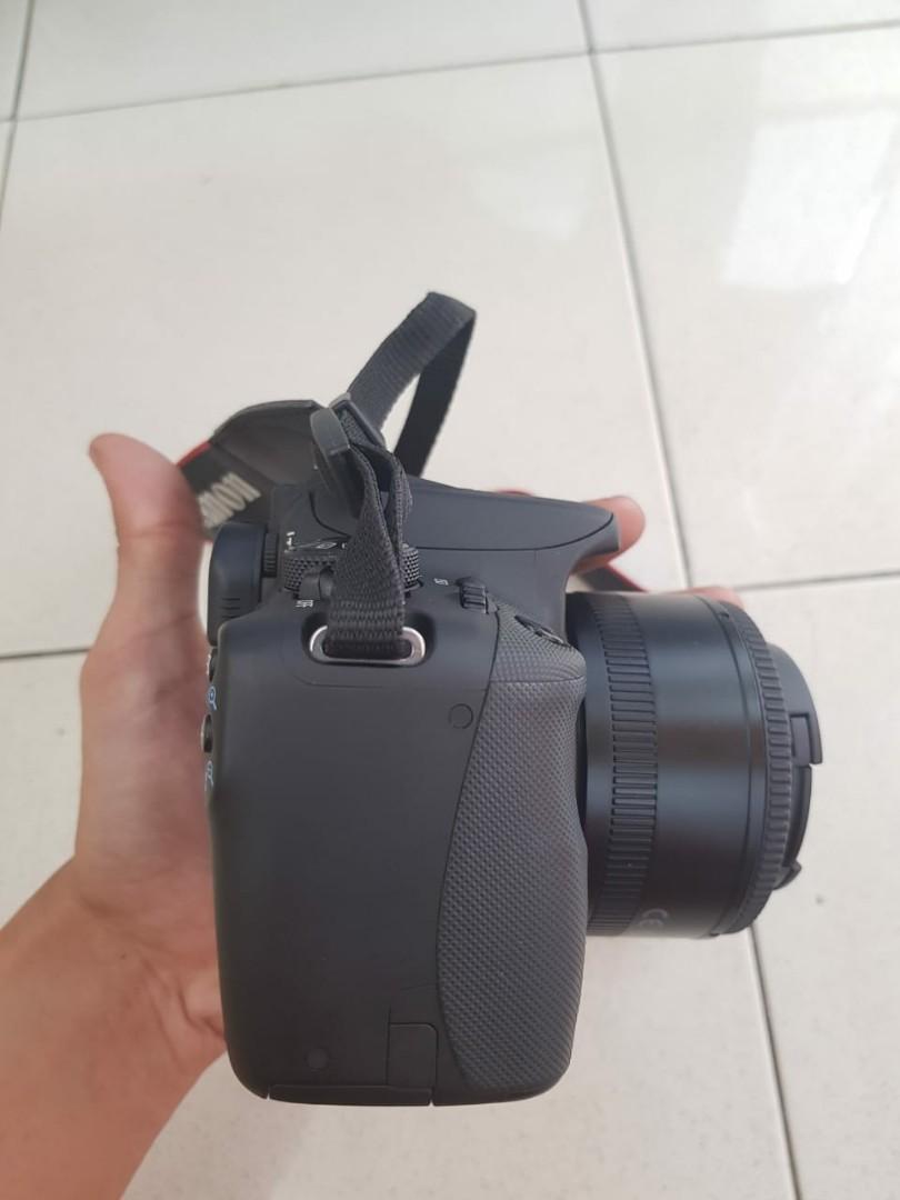 Camera DSLR Canon 100D.murah.nego.lengkap.cod.touchscreen.TT/BARTER