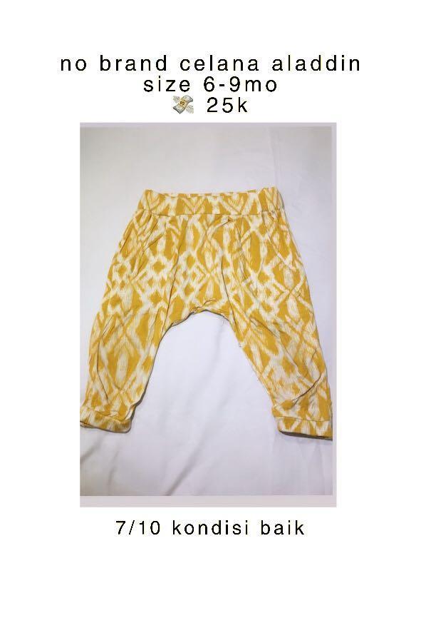 Celana Aladdin Celana Legging Celana Anak Celana Bayi Celana Jogger Bayi Anak Baju Anak Perempuan 1 Hingga 3 Tahun Di Carousell