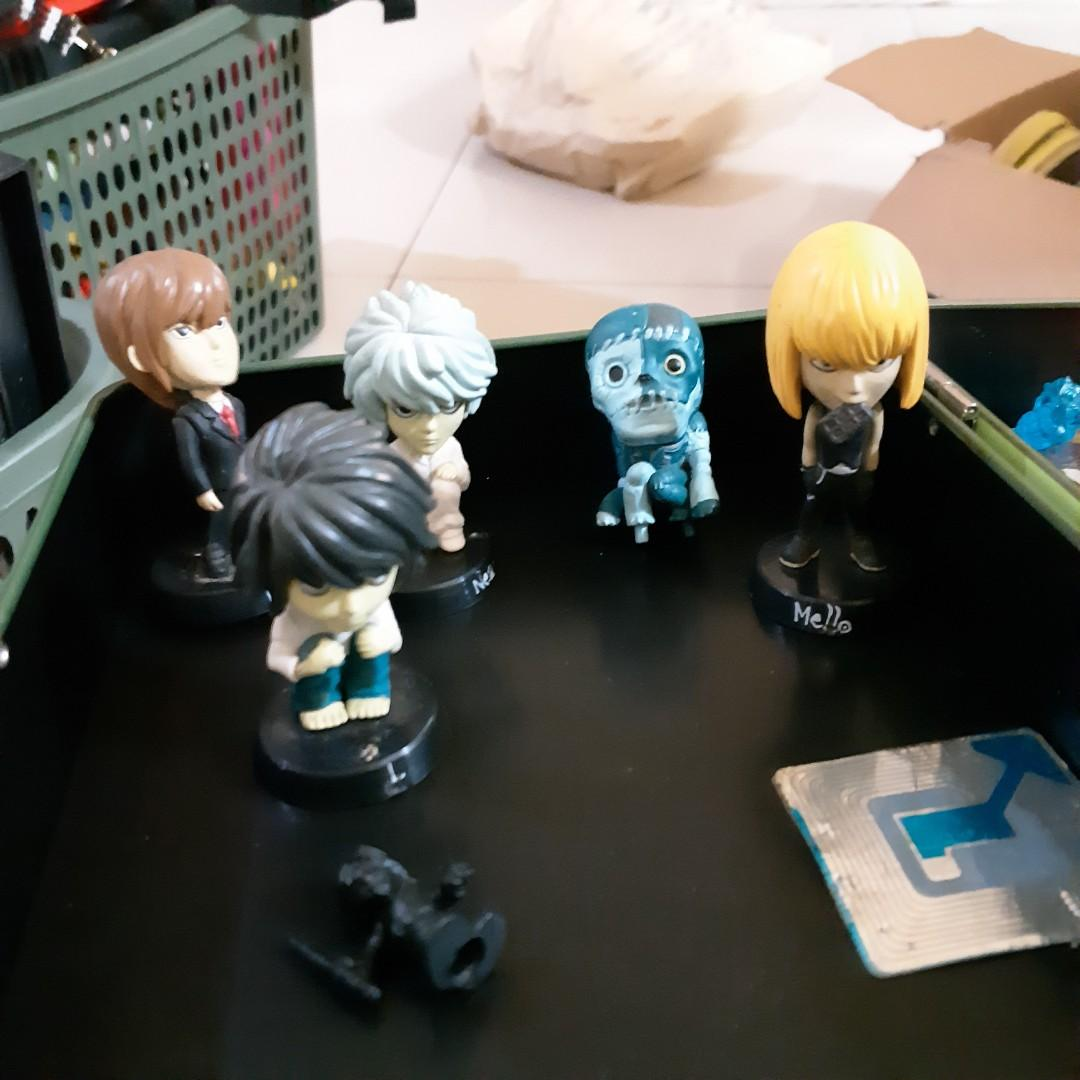 Death Note toys figure minis