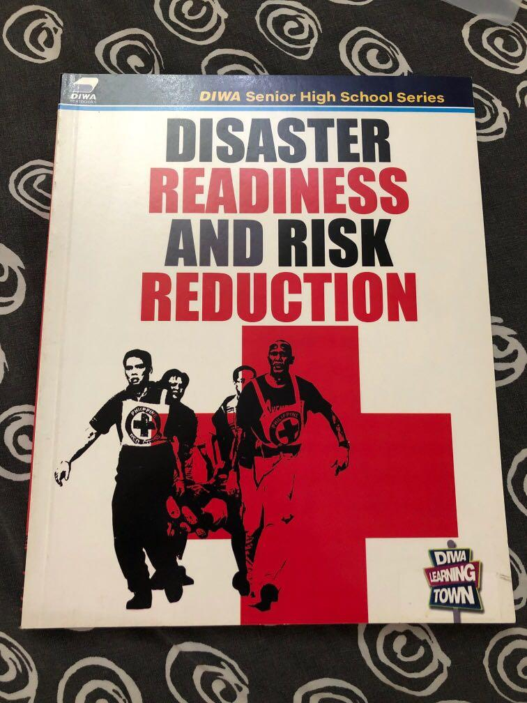 DRR Disaster Readiness And Risk Reduction textbook SENIOR HIGHSCHOOL (grade 11)