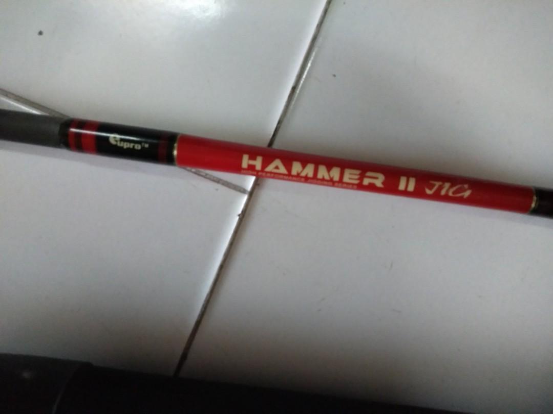 Fishing Rod Cupro hammer π Jig