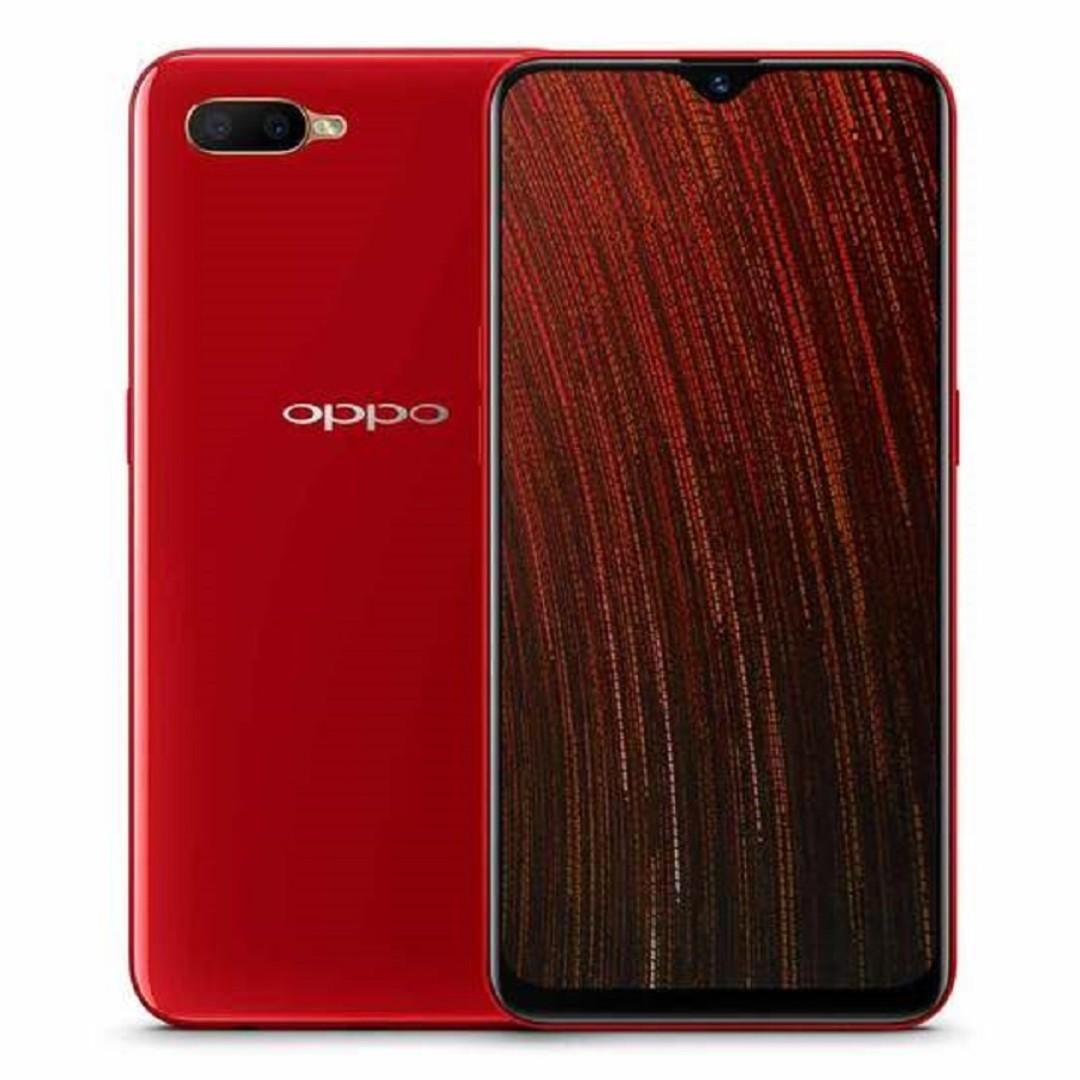 FREE GIFTS BRAND NEW OPPO AX5s With FREE GIFT BOX, Screen Protector, Cover, Earpiece, I-Ring, Water Bottle, Selfie Stick And 2 Years Warranty