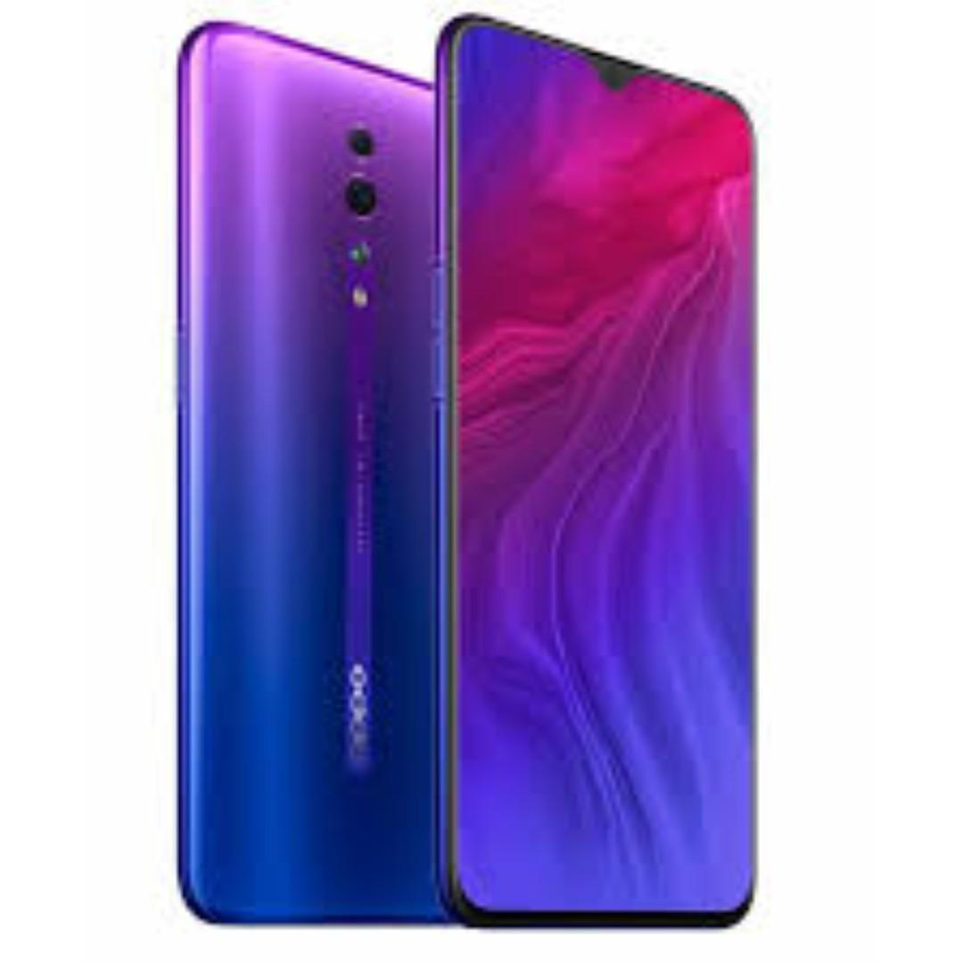 FREE GIFTS BRAND NEW OPPO Reno Z With FREE GIFT BOX, Bluetooth Speaker, Screen Protector, Cover, Earpiece, Selfie Stick, I-Ring And 2 Years Warranty