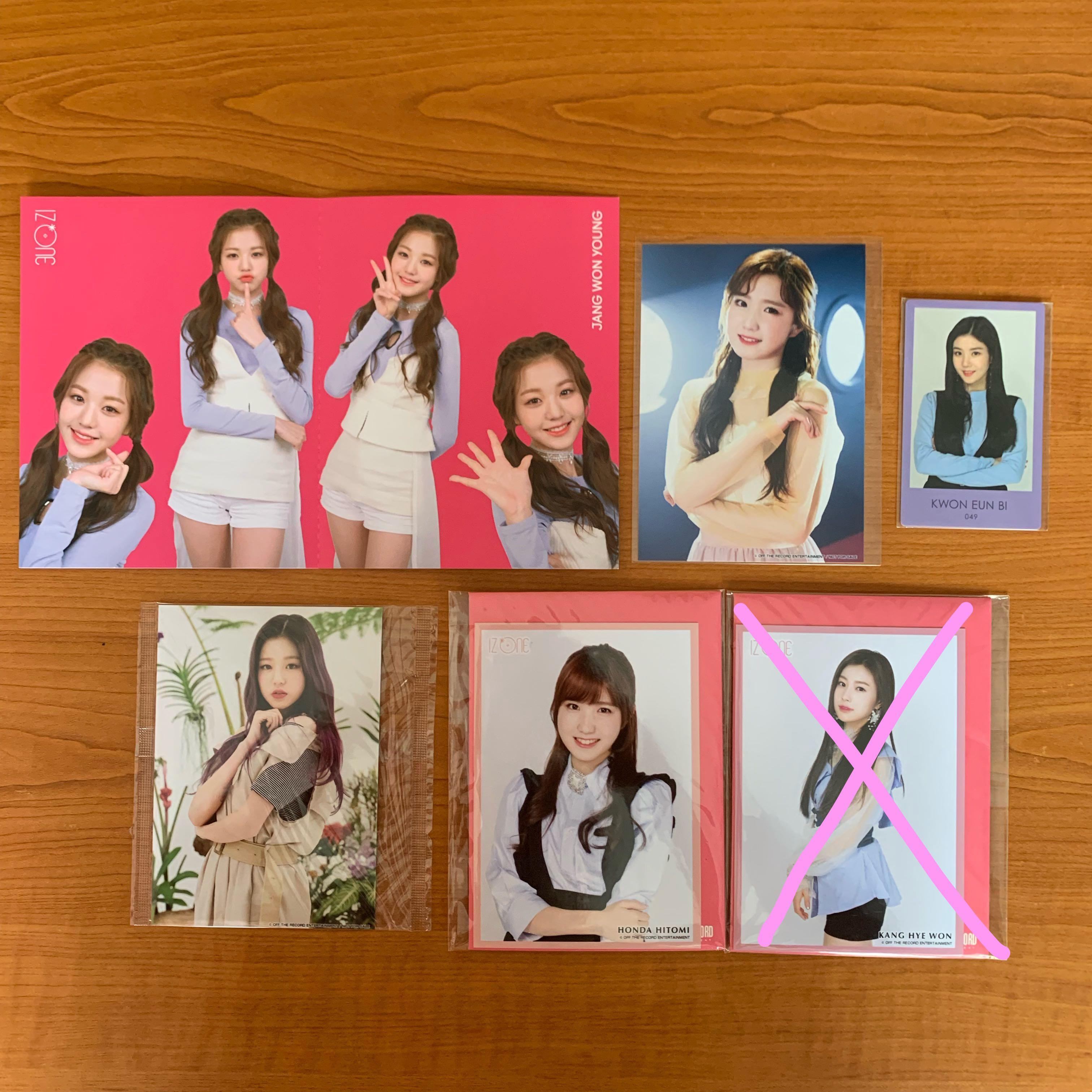 [Free NM] IZ*ONE Official Items