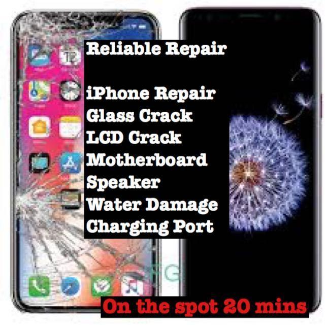 iPhone Screen Battery Replacement, Samsung Phone Repair