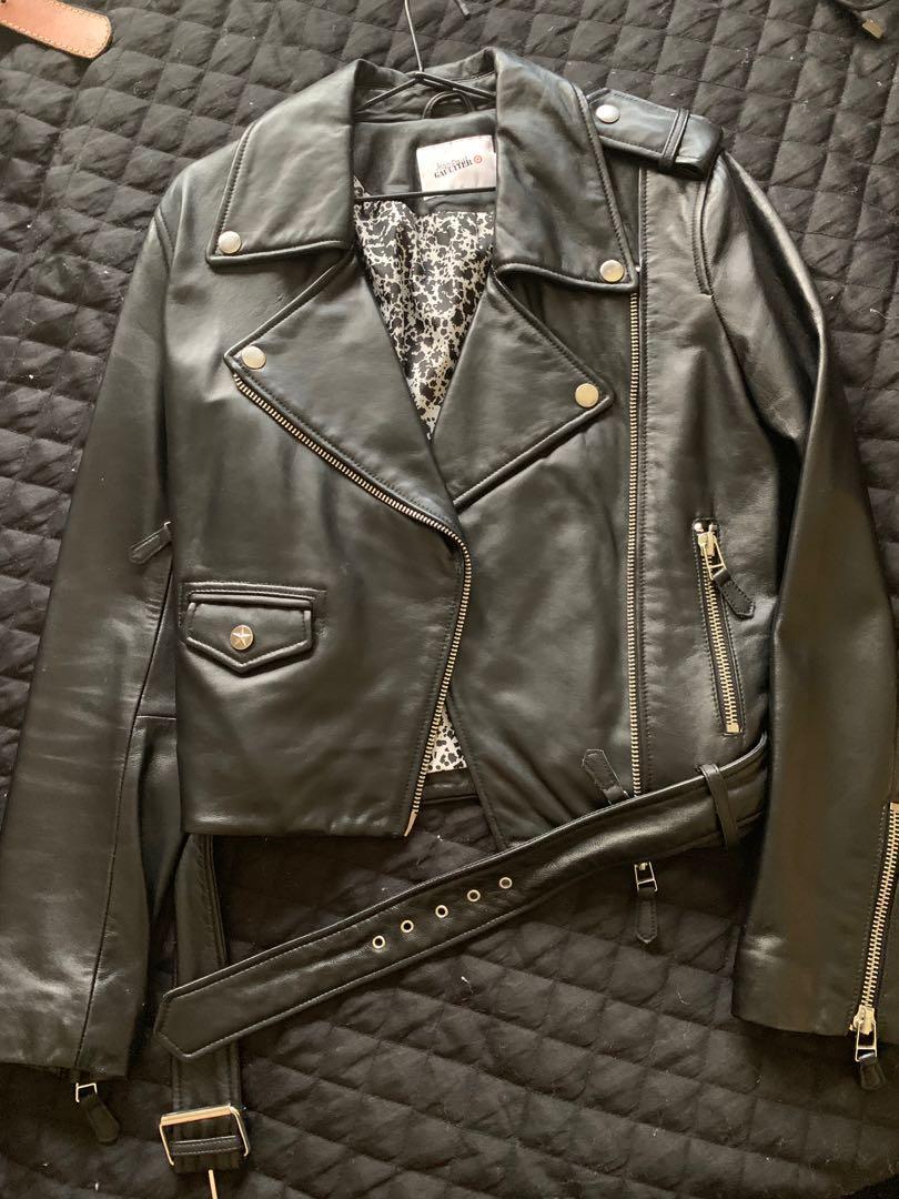 Jean Paul Gaultier for Target Leather Biker Jacket